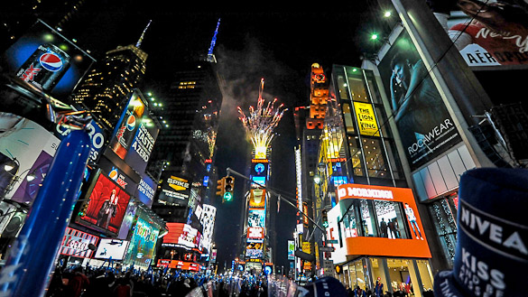 New Years Eve at Times Square